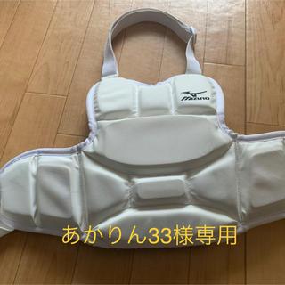 ミズノ(MIZUNO)の空手 子ども用プロテクター(相撲/武道)