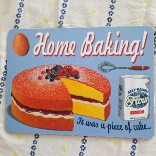 キャスキッドソン(Cath Kidston)のロンドンで購入/コルクの耐熱テーブルマット/パンケーキ柄新品未使用(テーブル用品)