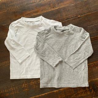 エイチアンドエム(H&M)のH&M ロンTセット 80  キッズ ベイビー(Tシャツ)