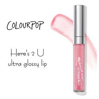 カラーポップ(colourpop)のcolourpop 🧚♀️ Here's 2 U(リップグロス)