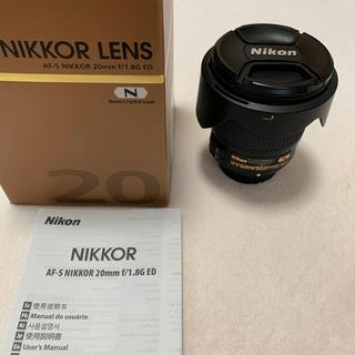 Nikon - AF-S NIKON 20mm f1.8 単焦点レンズ