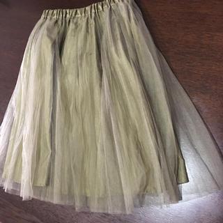 ジルバイジルスチュアート(JILL by JILLSTUART)のジルスチュアート チュールスカート(ひざ丈スカート)