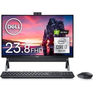 デル(DELL)のDell デスクトップパソコン Inspiron 5490 Core i7 ブラ(デスクトップ型PC)