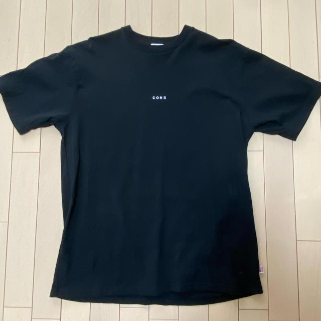 coen(コーエン)の【coen】ロゴTシャツ Lサイズ レディースのトップス(Tシャツ(半袖/袖なし))の商品写真