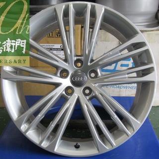 アウディ(AUDI)のアウディ F2系 A7スポーツバック純正 5ダブルスポークVデザイン 4本セット(タイヤ・ホイールセット)