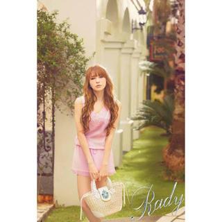 レディー(Rady)の♡Rady♡モチーフレースショートコンビネゾン♡ラベンダーS(オールインワン)