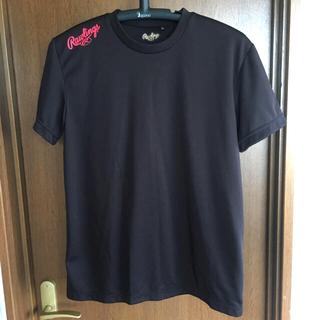 ローリングス(Rawlings)の【ローリングス】 Tシャツ2枚組(赤・黒)(ウェア)