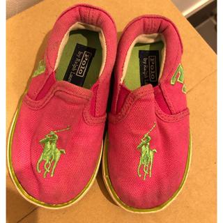 ラルフローレン(Ralph Lauren)のベビー靴(スリッポン)