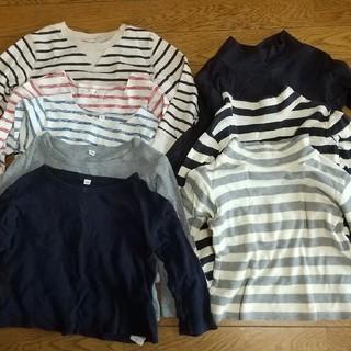 ムジルシリョウヒン(MUJI (無印良品))の100cm 長袖Tシャツ トレーナー まとめ売り 無印(Tシャツ/カットソー)