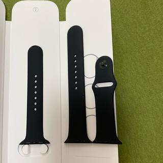 Apple Watch - 【純正】Apple Watch 純正バンド 黒ML