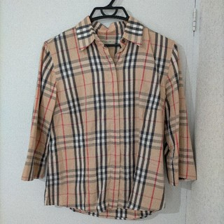 BURBERRY - バーバリーロンドン 7分丈シャツ Sサイズ