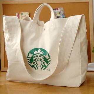 Starbucks Coffee - 【スターバックス】ショルダーバック クロスボディバック 大容量 ベージュ