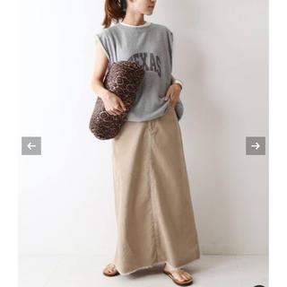 フレームワーク(FRAMeWORK)の【FRAMeWORK♡コールAラインマキシスカート】(ロングスカート)