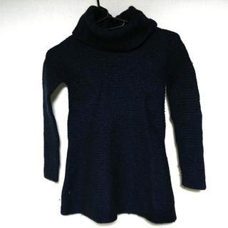 セオリー(theory)のセオリー 長袖セーター サイズ2 S ネイビー(ニット/セーター)