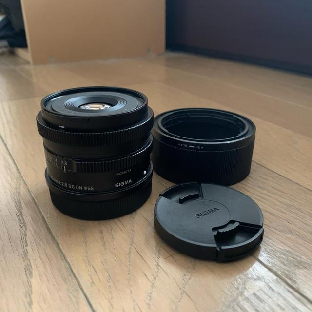 SIGMA(シグマ)の【美品】SIGMA 45mm DG DN F2.8 Lマウント スマホ/家電/カメラのカメラ(レンズ(単焦点))の商品写真