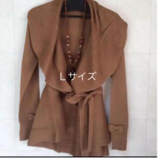 ギャラリービスコンティ(GALLERY VISCONTI)の袖口リボンベルトつき羽織 ギャラリービスコンティ  新品(カーディガン)