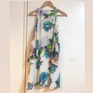 ザラ(ZARA)のZARABASIC(韓国)ショートドレス(ミニドレス)
