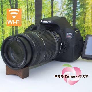 Canon - キャノン kiss X7i☆スマホ転送OK!液晶画面自由自在☆1108