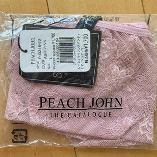 ピーチジョン(PEACH JOHN)の新品 タグ付き PEACH JOHN PJ ラインレスパンティ L(ショーツ)