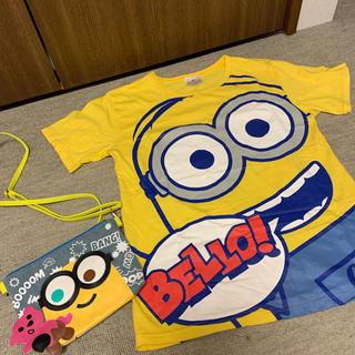 ユニバーサルスタジオジャパン(USJ)のミニオンズ Tシャツ ポーチセット(Tシャツ(半袖/袖なし))
