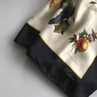 Chopard - chopard シルクスカーフ