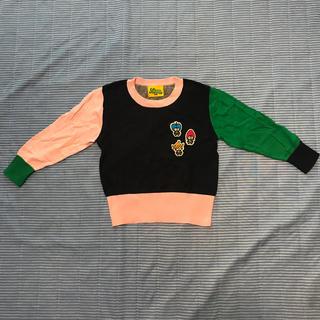 ランドリー(LAUNDRY)のスマイルランドリー セーター  100センチ(Tシャツ/カットソー)
