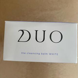 DUO クレンジングバーム ホワイト(クレンジング/メイク落とし)