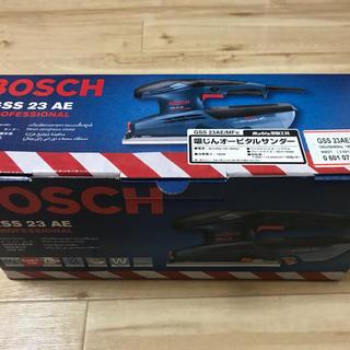 ボッシュ(BOSCH)の【送料無料】BOSCH ボッシュ 吸塵オービタルサンダー 美品(その他)