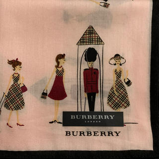BURBERRY - バーバリー ハンカチ女の子ロンドン