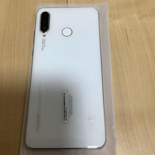 Softbank - HUAWEI P30 lite パールホワイト