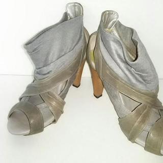 オゥバニスター(AU BANNISTER)のオウバニスター ショートブーツ 36(ブーツ)