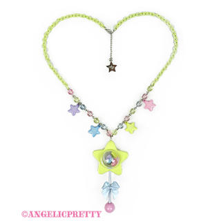 Angelic Pretty - Star Toyネックレス