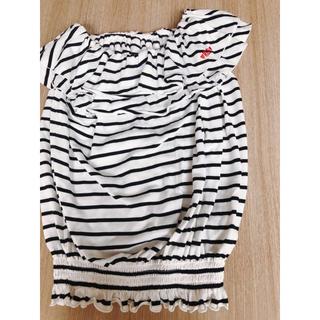 レピピアルマリオ(repipi armario)のレピピ オフショルTシャツ(Tシャツ/カットソー)