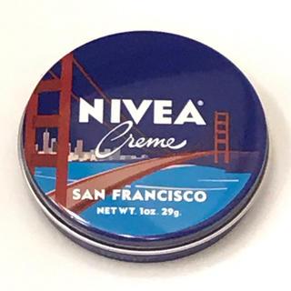 ニベア(ニベア)のアメリカ限定デザイン  ニベア青缶 サンフランシスコ Ver.(ボディクリーム)