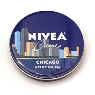 ニベア(ニベア)のアメリカ限定デザイン  ニベア青缶 シカゴVer.(ボディクリーム)