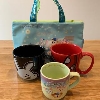 Disney - ディズニーマグカップ 保冷バッグ 4点セット