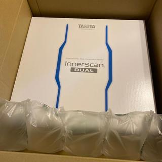 タニタ(TANITA)のデュアルタイプ体組成計 インナースキャンデュアル RD-906(体重計/体脂肪計)