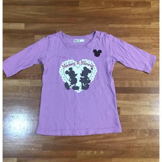 ベルメゾン(ベルメゾン)のベルメゾン ディズニー 五分袖Tシャツ(Tシャツ/カットソー)