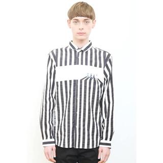 グラニフ(Design Tshirts Store graniph)のザビートルズ コラボ 長袖シャツ/アビーロードストライプ(シャツ)