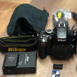 Nikon - Nikon D5100 デジタル一眼レフカメラ ダブルズームキットキット 箱付き