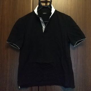 ビームス(BEAMS)のBEAMS 黒ポロシャツ Lサイズ(ポロシャツ)
