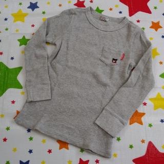 DOUBLE.B - ダブルB ワッフル素材長袖Tシャツ 120cm ミキハウス ロンT