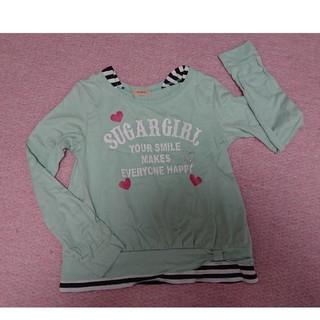 ベルメゾン(ベルメゾン)の長袖カットソー 女の子150センチ(Tシャツ/カットソー)