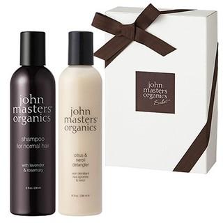 ジョンマスターオーガニック(John Masters Organics)の新品 ジョンマスターオーガニック ギフトBOX LRシャンプー&CNデタングラー(シャンプー)
