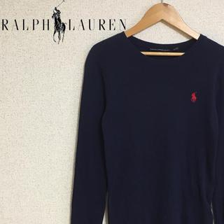 ラルフローレン(Ralph Lauren)のお取り置き ラルフローレン ロンT レディース 紺 ネイビー 刺繍(Tシャツ(長袖/七分))