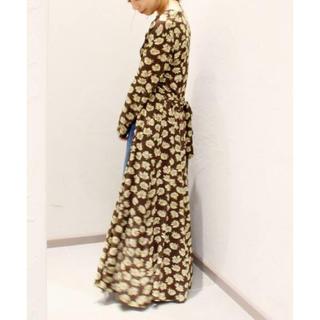 プラージュ(Plage)の定価¥39600 美品✦ฺ Plage  Rayon シャツワンピース(ロングワンピース/マキシワンピース)
