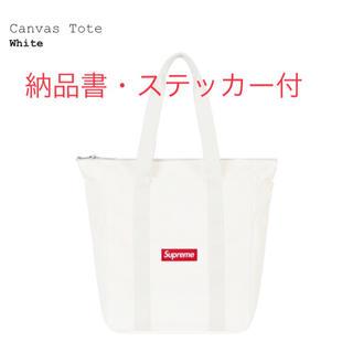 Supreme - Supreme Canvas Tote White トート