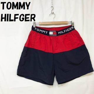 トミーヒルフィガー(TOMMY HILFIGER)の【人気】トミー ヒルフィガー ショートパンツ ウエストゴム サイズM(ショートパンツ)