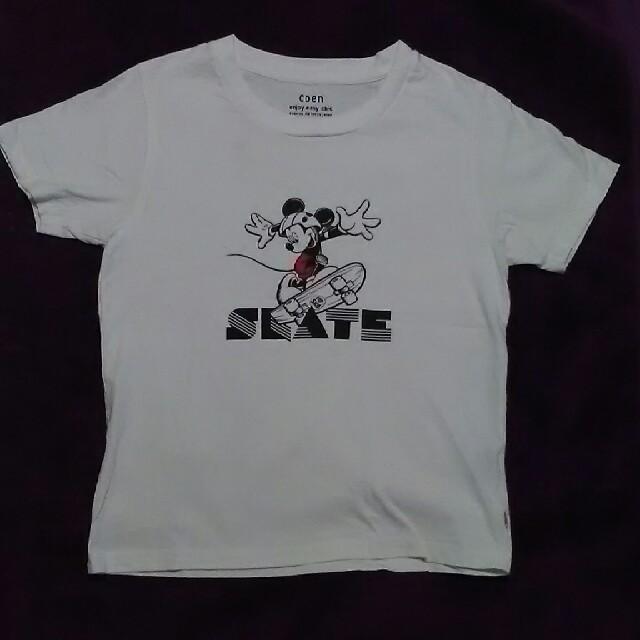 coen(コーエン)のCoen ミッキースケーターTシャツ レディースのトップス(Tシャツ(半袖/袖なし))の商品写真