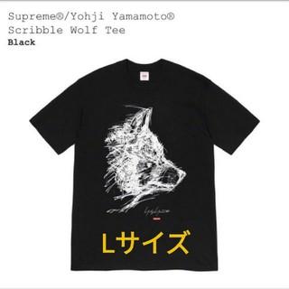 Supreme - supreme×Yohji Yamamoto scribble wolf L